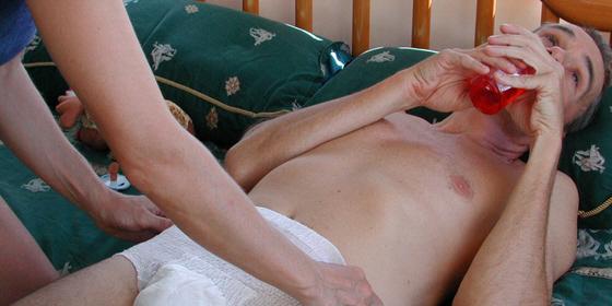 Saturday night honeymooner sex position